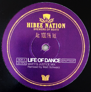 "Hibee Nation - Life Of Dance (12"") (Promo) (VG-/G)"